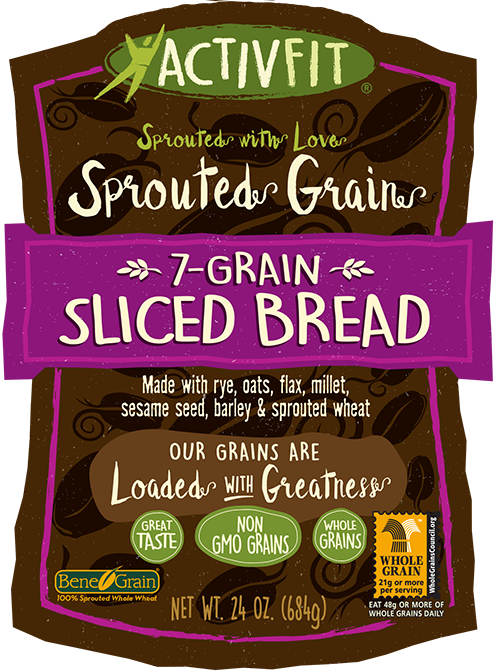 7-Grain Sliced Bread